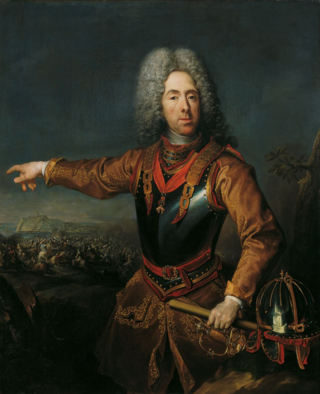 More Than Just Enemies_Jakob van Schuppen_Prinz Eugen von Savoyen nach der Schlacht von Belgrad am August 1717_Belvedere Wien