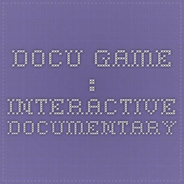 Docu-game