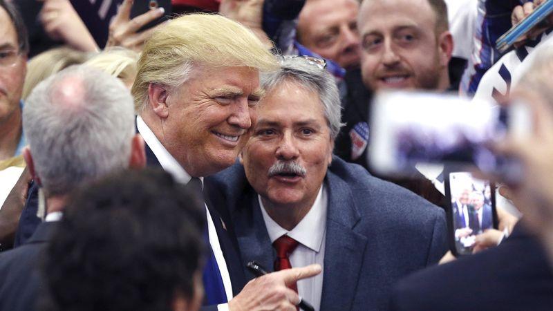 Trump selfi
