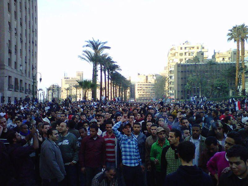 Revolucion egipcia