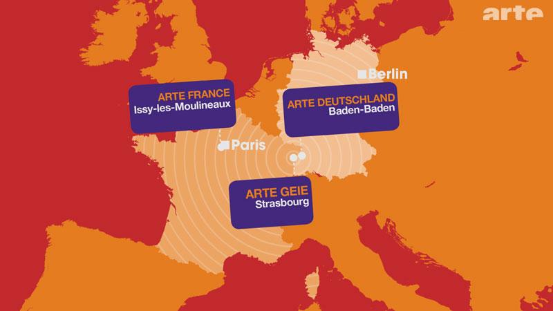 Mapa Arte