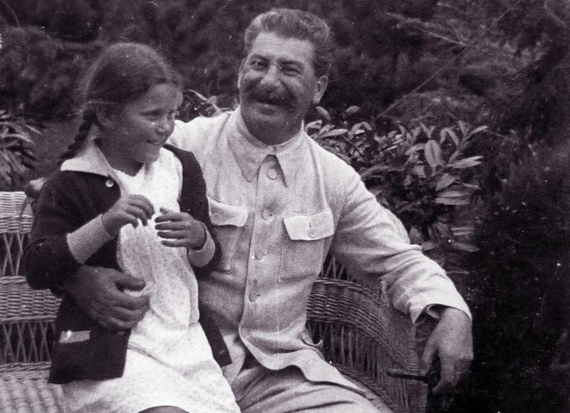 Stalin y su hija