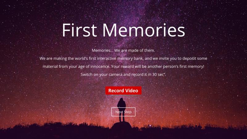 First memories 1