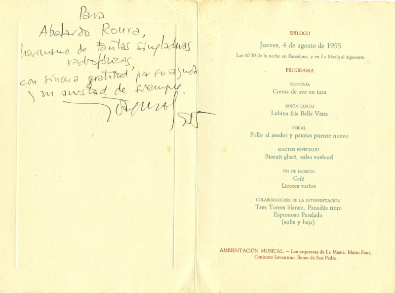 1955 Soler Serrano dedicatòria