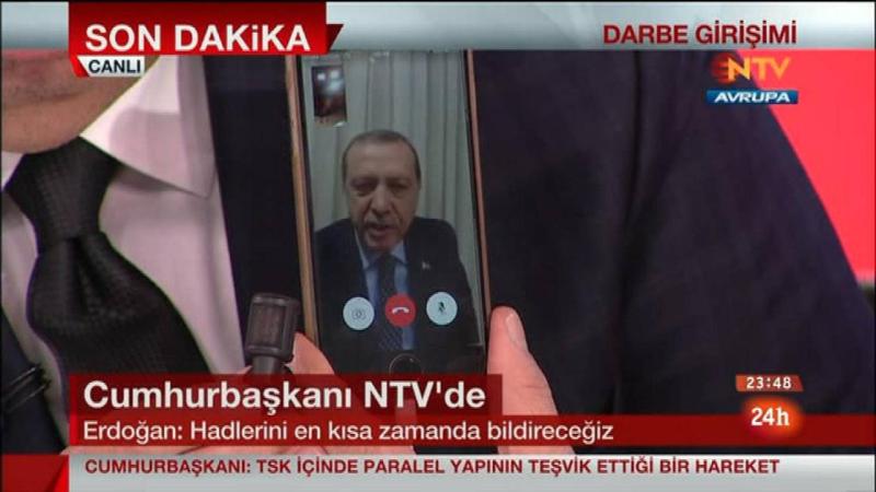 Videollamada Erdogan