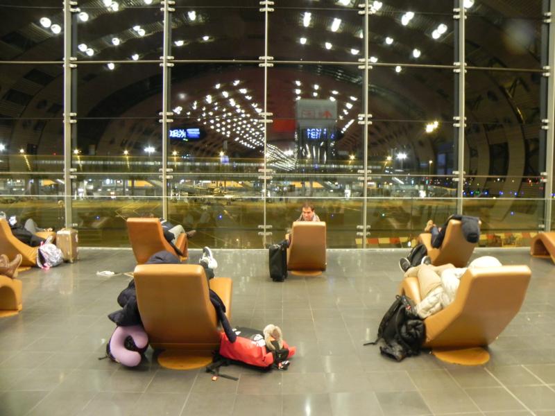 Aeropuerto París CDG @angelaGonzaloM