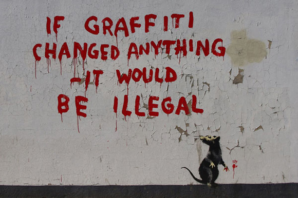 If-Graffiti-Changed-Anything-by-Banksy