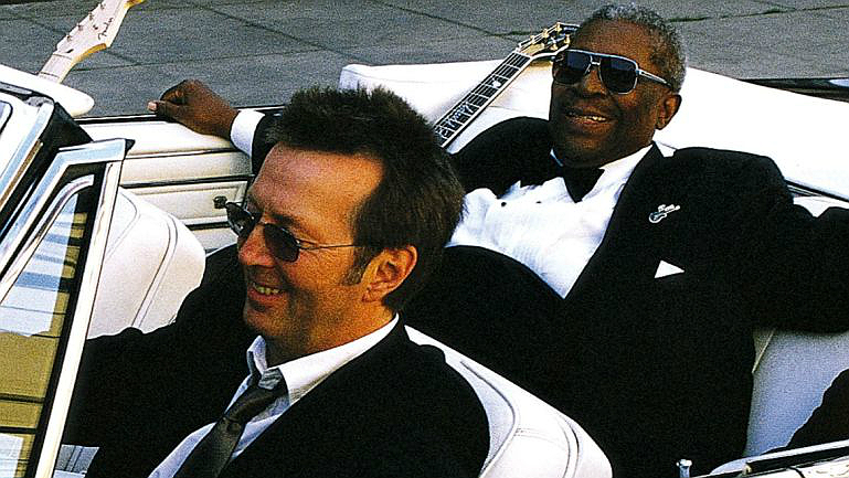 Eric Clapton & BB King en cocheOk