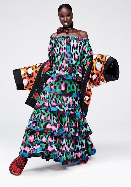 Vestido estampado de Kenzo