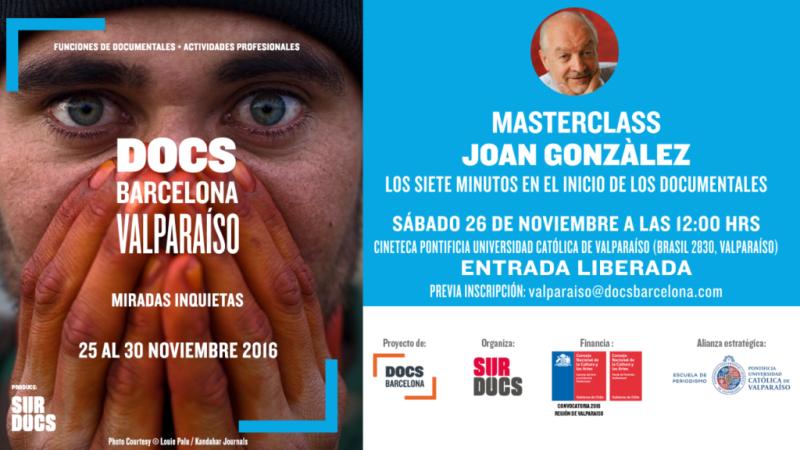 Masterclass Joan Gonzalez