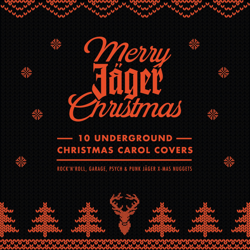 Portada del disco Merry Jager Xmas