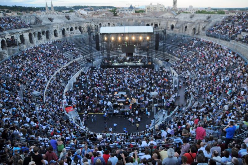 16. Concert Arènes. Ville de Nîmes DMarck