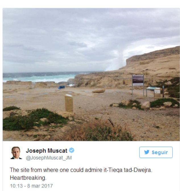 Twitter Joseph Muscat