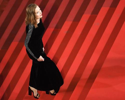 La-actriz-Isabelle-Huppert