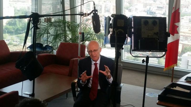 Entrevista embajador canada