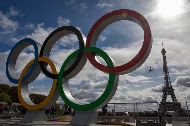 Anillos olimpicos en París_Foto EFE_Ian Langsdon