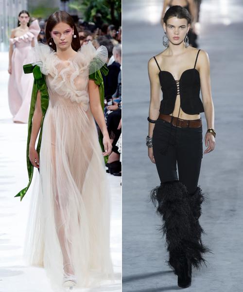 Diseños-de-Valentino-y-Saint-Laurent