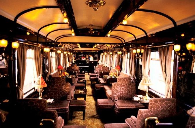 Imagen interior tren de lujo