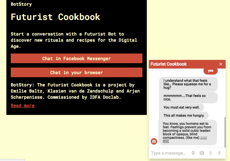 Futurist cookbook 2