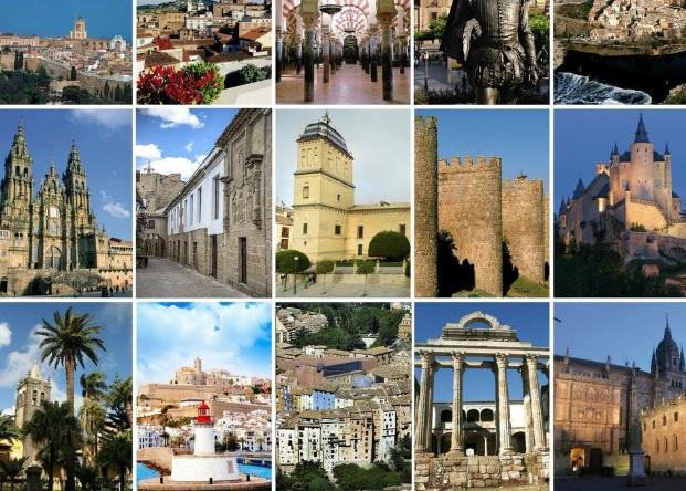 Ciudades españolas Patrimonio Humanidad