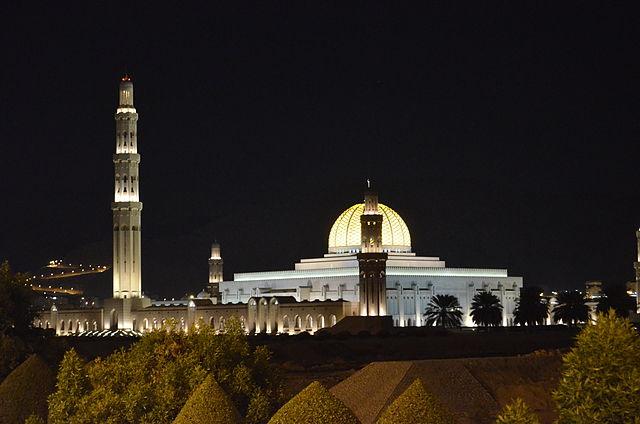 Mezquita de Muscat en Oman2013_059_Foto Wikipedia Maurizio anelli