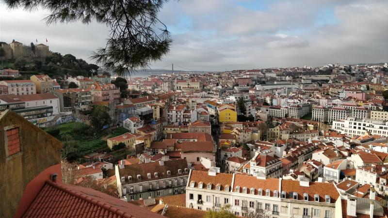 Lisboa desde Graça