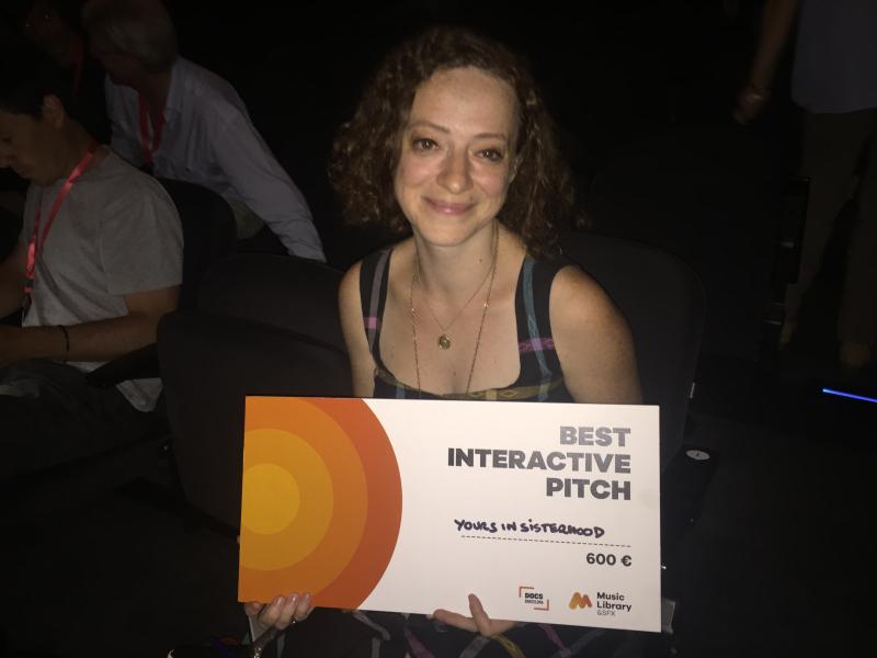Interactive pitch ganadora