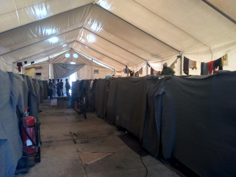 Interior tenda