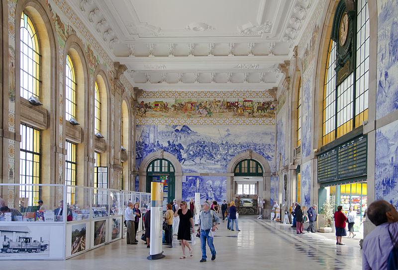 Estación_de_tren_São_Bento _Oporto _Portugal
