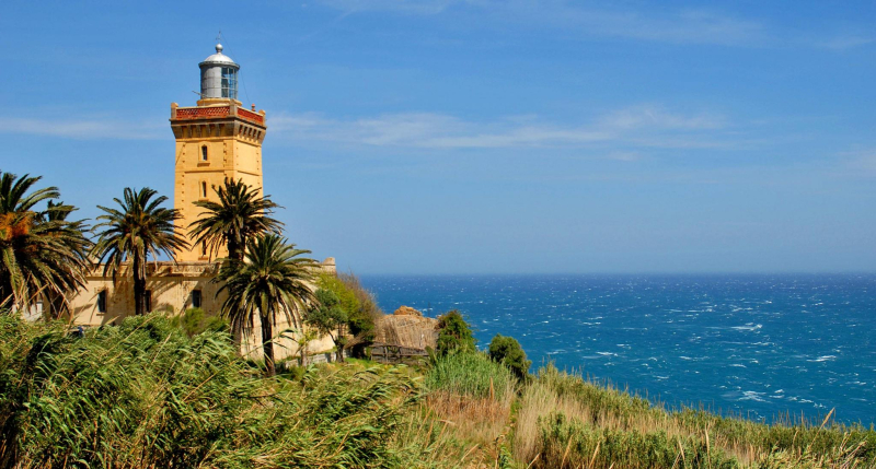Tangier-lighthouse-Tangier-shore-excursion