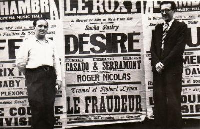 Casado et Serramont París 4 cartell al carrer BLOG
