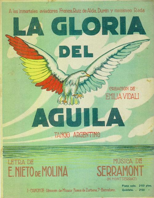 La gloria del águila PARTITURA BLOG