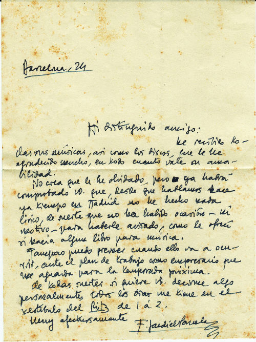 Carta Jardiel Poncela BLOG