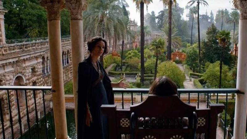 Reales Alcázares de Sevilla Juego de Tronos