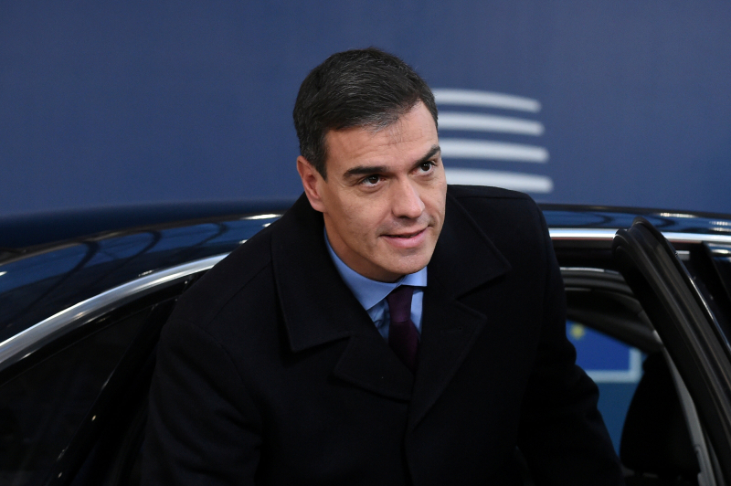Pedro Sanchez en Bruselas_Foto Reuters