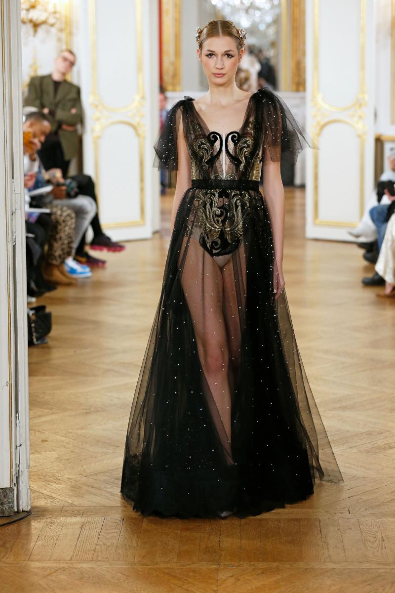 Vestido negro de Yolancris