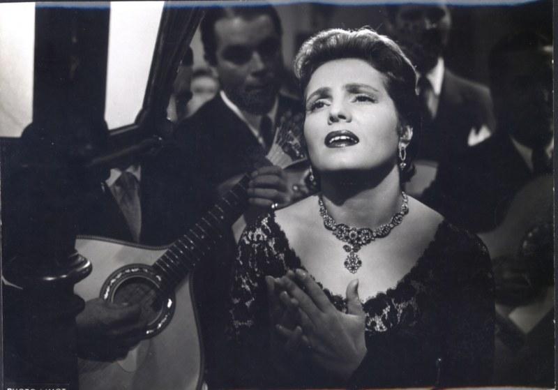 Amália Rodrigues Filme 'Os Amantes do Tejo'  1955 Foto_Museo del Fado