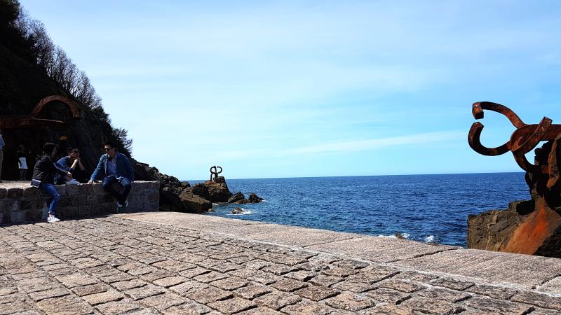 Peine del viento (San Sebastián) @angelaGonzaloM