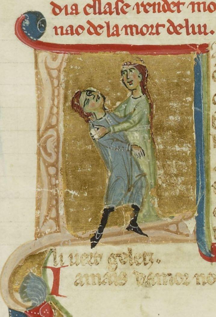 Muerte de Jaufré Rudel_Biblioteca Nacional de Francia