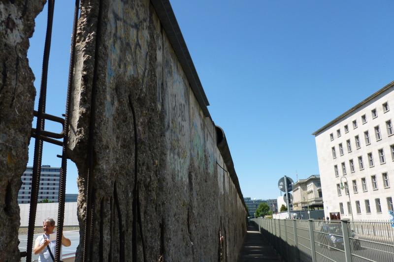 Camino del Muro en Berlín - Mauerrest Niederkirchnerstraße Foto_Senatskanzlei