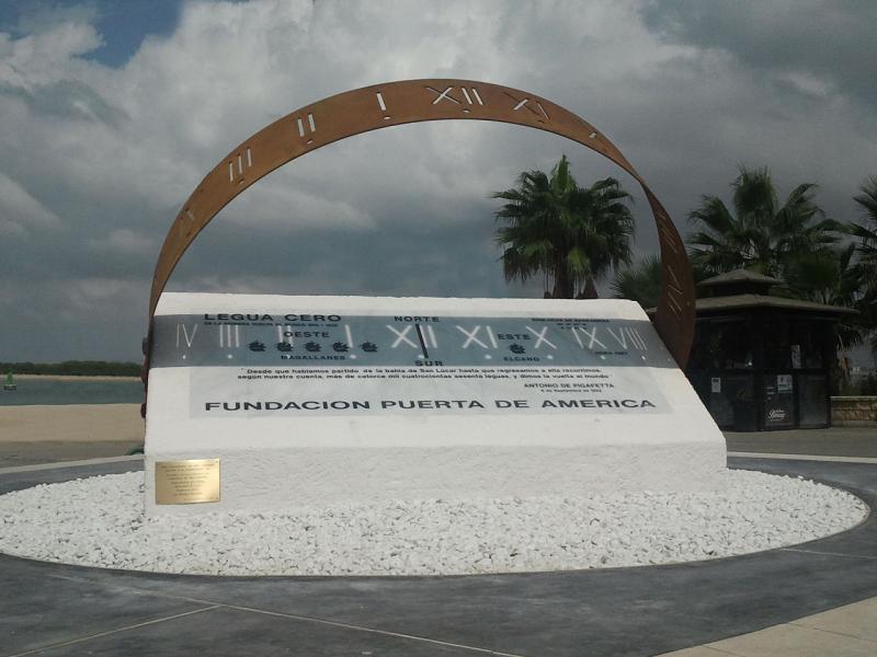 'Legua Cero' Homenaje conmemorativo primera circunnavegación en Sanlúcar