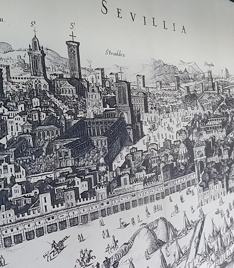 Sevilla grabado de la época