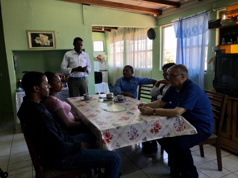Emigrantes haitianos acogidos en la parroquia del padre Modesto3