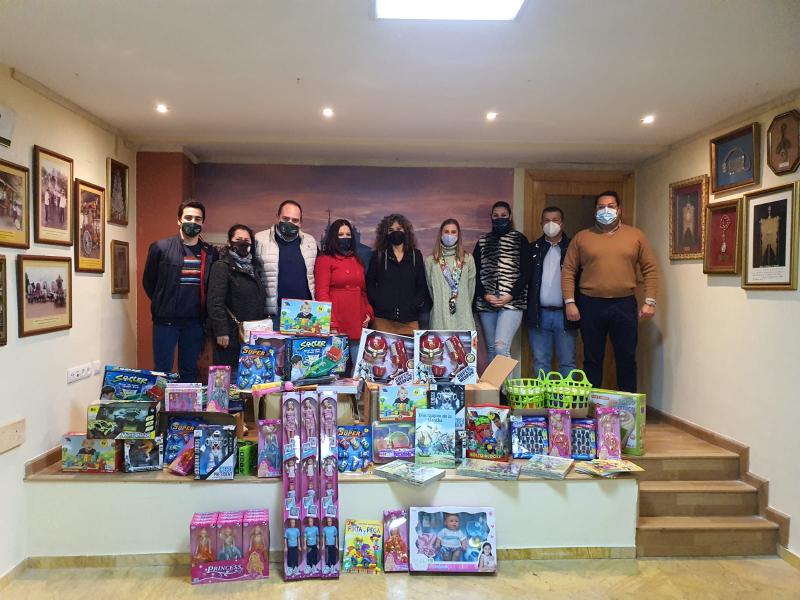 Foto guardia civil juguetes