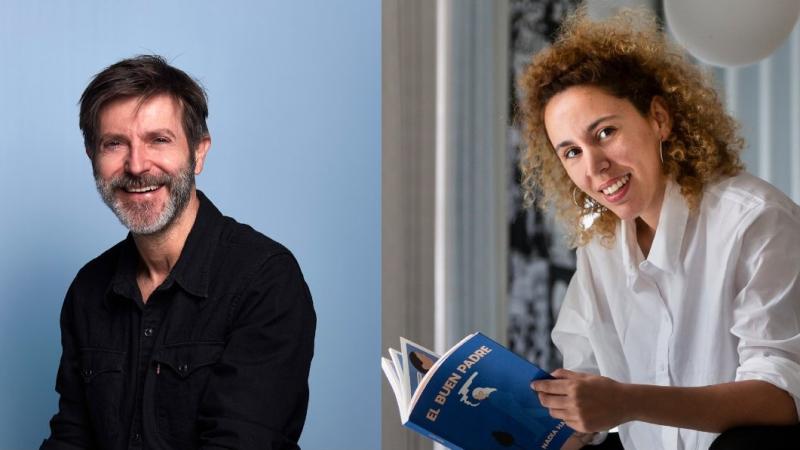Paco Roca y Nadia Hafid