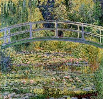 Monet un his Gardeny b